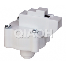 Fast plug type low voltage switch